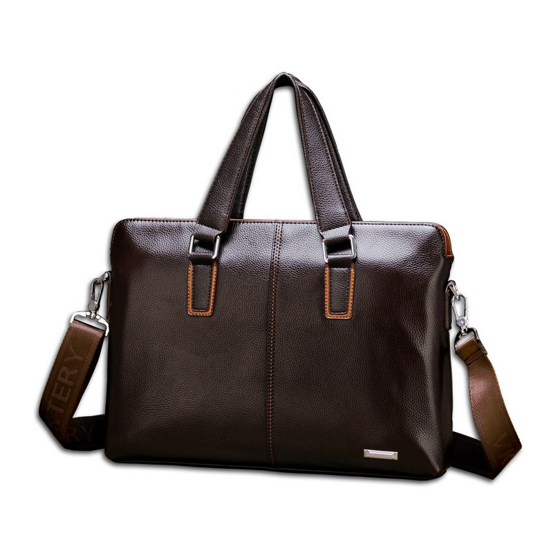VKTERY Brand Handbag Men Satchel PU Leather Messenger Crossbody Bag Business Solid Tote Briefcase Sling Shoulder Bags 6636 пена монтажная penosil огнеупорная профессиональная 750 мл