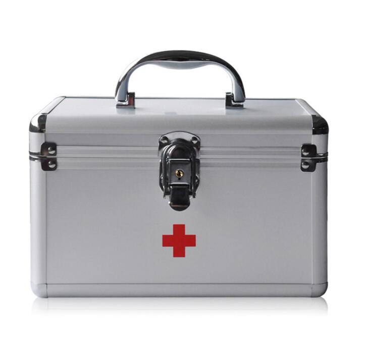 GBJ1-Free Shipping Aluminum safety kit Home medical kit emergency new gbj free shipping home aluminum medical cabinet multi layer medical treatment first aid kit medicine storage portable