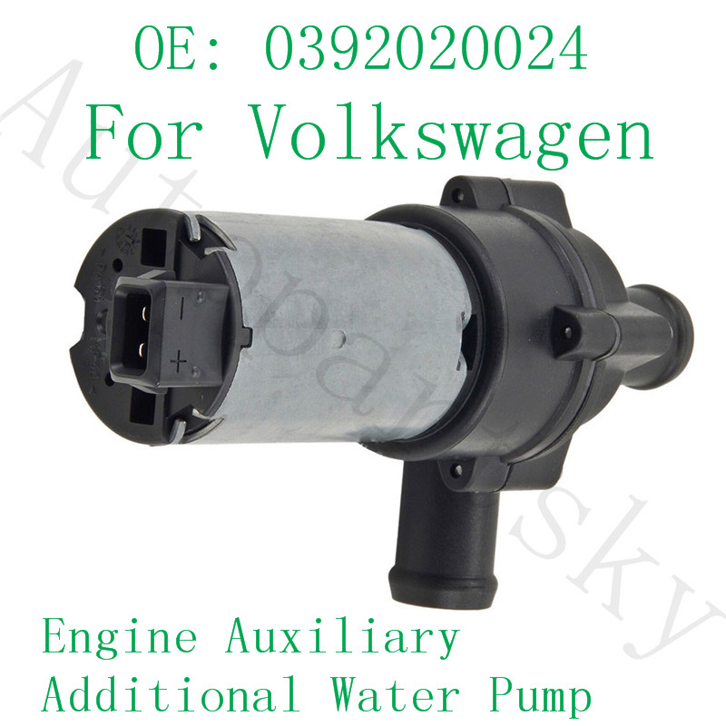 New Engine Water Electric Pump 0392020024 251965561B 95VW8502BA for Volkswagen Beetle Corrado EuroVan Golf A0012012000