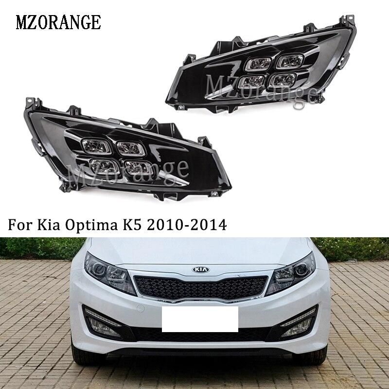 Mzorange For Kia Optima K5 2010 2014 Led Daytime Running Light Car