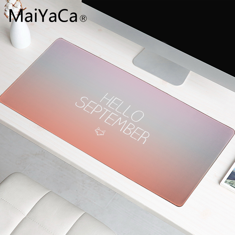 MaiYaCa <font><b>300</b></font> * <font><b>600</b></font> mm Big Mouse pad Hello Summer Wallpaper Desk Mat Surface Waterproof Laptop Gaming Mice Mousepad image