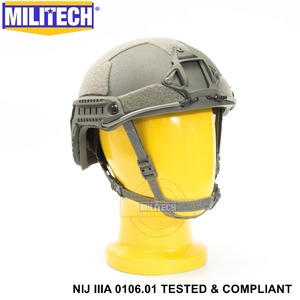 Image 4 - ISO Certified MILITECH FG NIJระดับIIIA 3A FAST OCCสูงXPตัดBulletproof Aramid Ballisticหมวกนิรภัย5ปี
