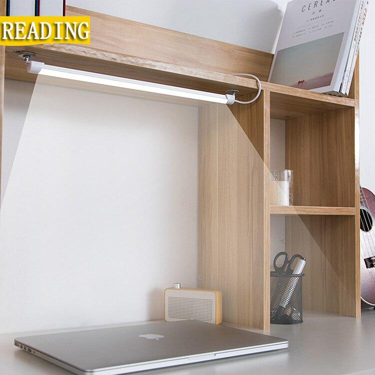 24 Lámpara De Mesa Led Con Clip Cama De Lectura Libro De Luz 5 W 5 V Lámpara De Escritorio Usb Led Lámpara De Mesa Lámpara De Escritorio Led Mesa Táctil 3 Modos Los Consumidores Primero