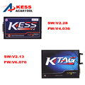 Full Set KTAG V2.13 ECU Programmer+V2.28 KESS V2 V4.036 OBD2 Manager Tuning Kit No Tokens KESS K-TAG K TAG V6.070 Master Version