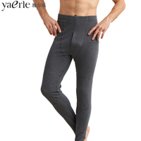 Men S Thermal Underwear Super Thick Double Layer Knees Keep Warm Cotton Winter Bottoming Long Johns