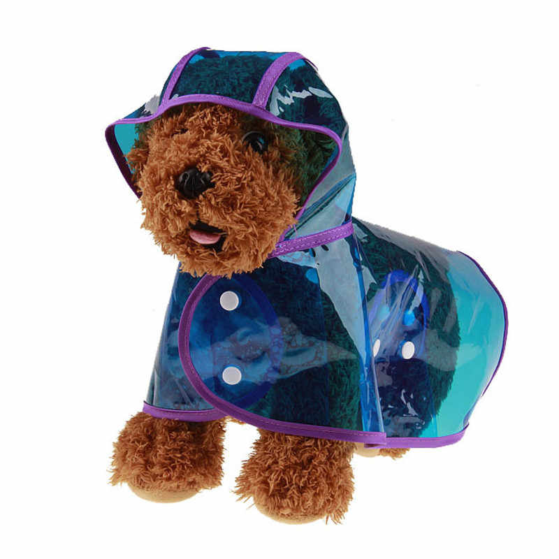 Bigeyedog impermeable para perro mascota ropa impermeable para perros Poodle ropa para perro Bichón chaqueta de lluvia para perros grandes trajes para mascotas