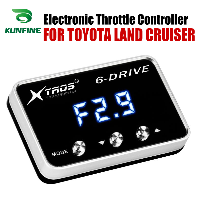 Car Electronic Throttle Controller Racing Accelerator Potent Booster For TOYOTA LAND CRUISER Tuning Parts AccessoryCar Electronic Throttle Controller Racing Accelerator Potent Booster For TOYOTA LAND CRUISER Tuning Parts Accessory