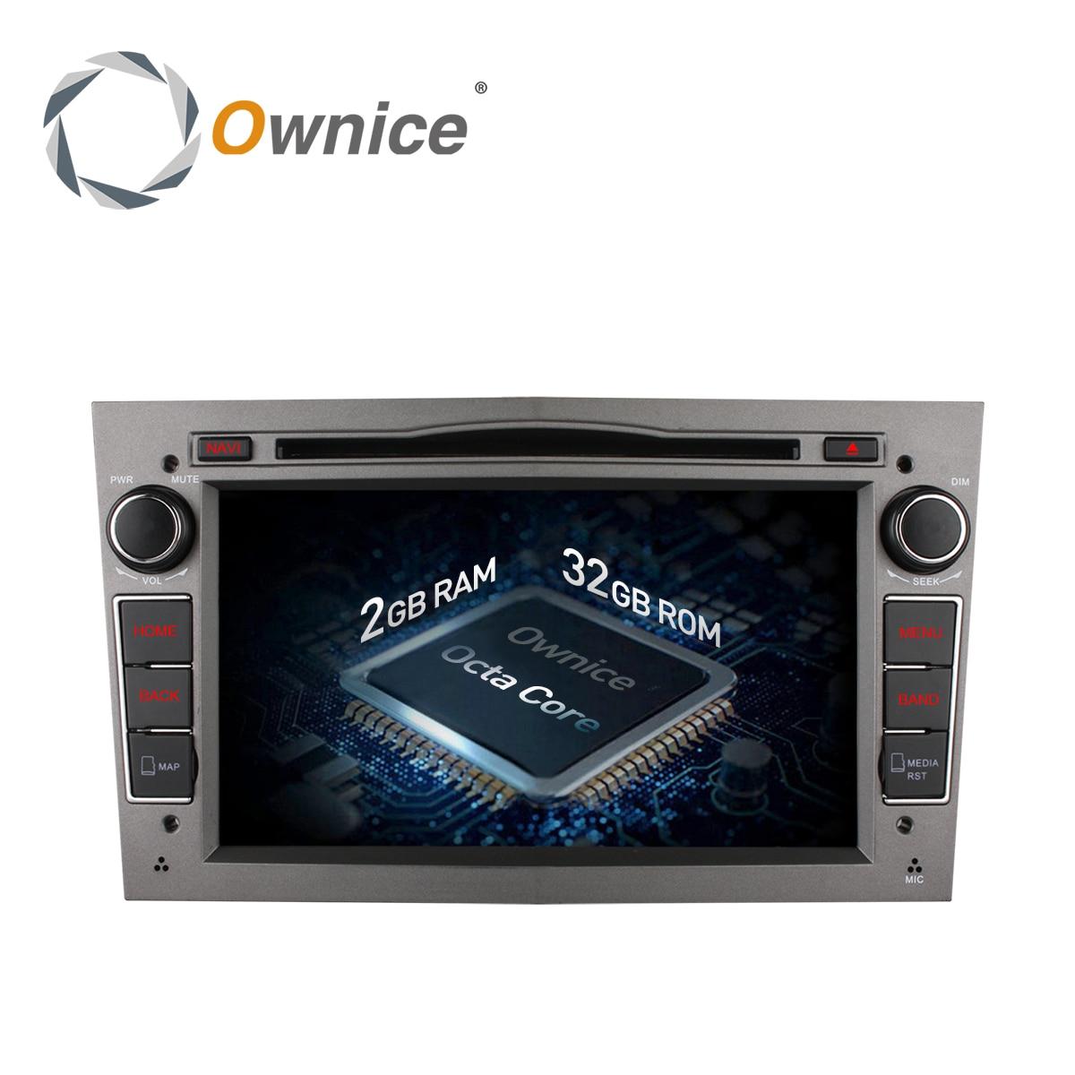 imágenes para Ownice C500 Octa Core Android 6.0 32G ROM GPS Coches Reproductor de DVD para Vauxhall Opel VECTRA ZAFIRA Antara Astra H G J Soporte 4G LTE