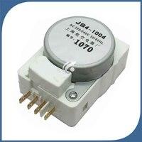 1 Uds para el nuevo temporizador de descongelación del refrigerador JS4 1004 temporizador de descongelación|Piezas de refrigerador| |  -