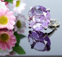 100PCS LOT Purple KATE ASPEN Wedding Party Gift Favor Decoration Of Crystal Diamond Ring Keychains Key