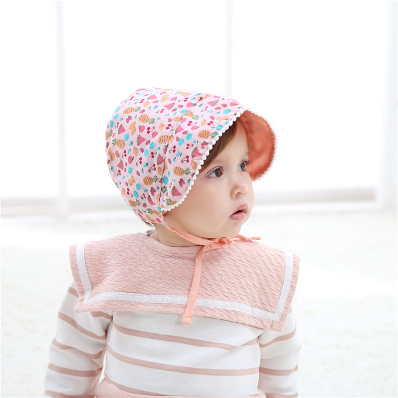 2017 new wholesale baby girl infant hat lovely princess newborn photography props summer flower sun cap outdoor sun hat in hats caps from mother kids on