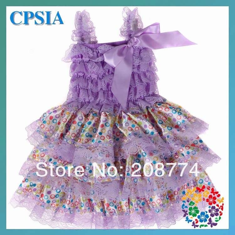 dc9570d6c Cute Baby Frock Designs Dress Flag Print Petti Lace Girl Dresses ...