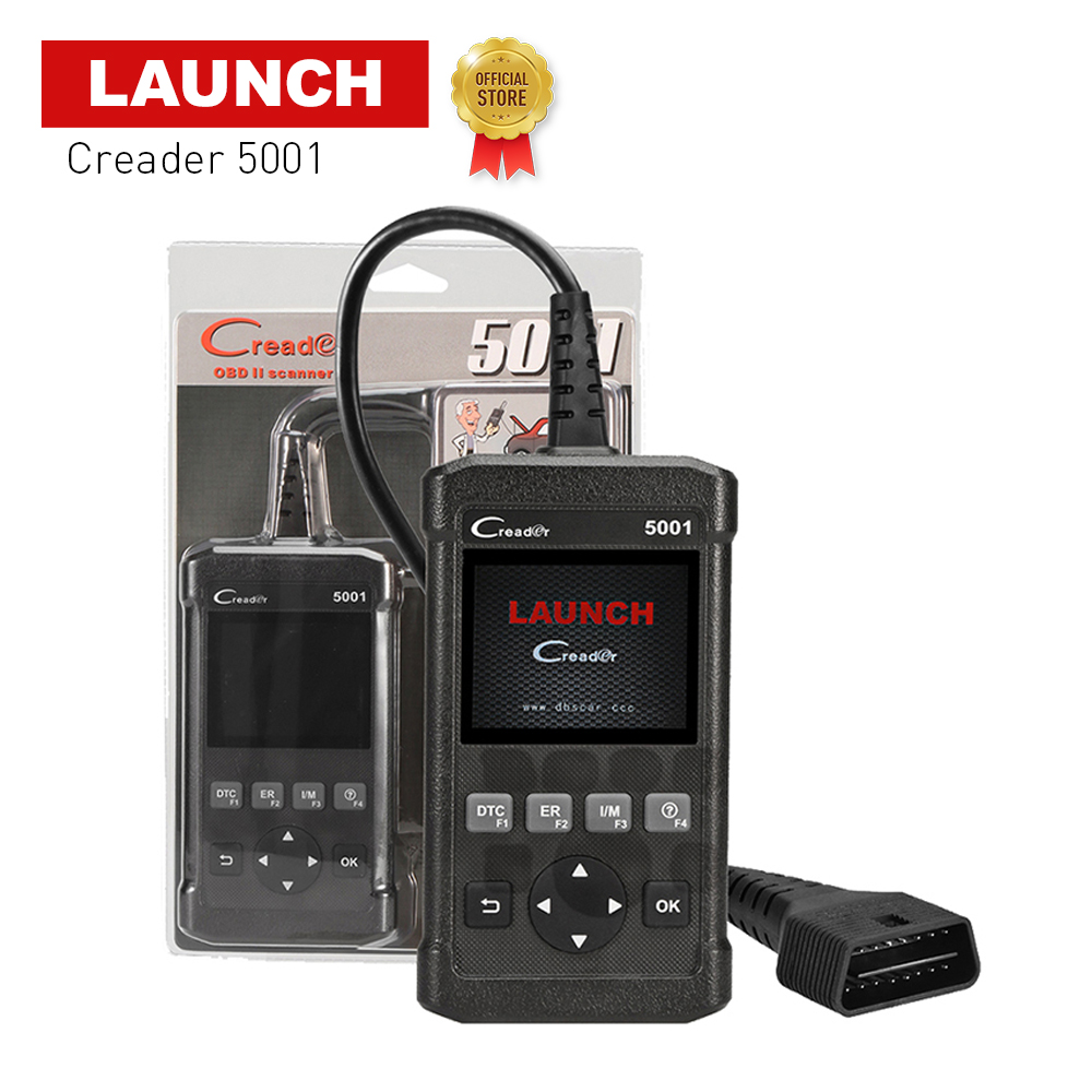 LAUNCH 2018 version CReader 5001 OBDII EOBD Diagnostic tool and On board monitor test as function