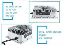 UY1500S 72 вольт водонепроницаемый зарядное устройство 87,6 В 24 s lifepo4 зарядное устройство 16A зарядное устройство