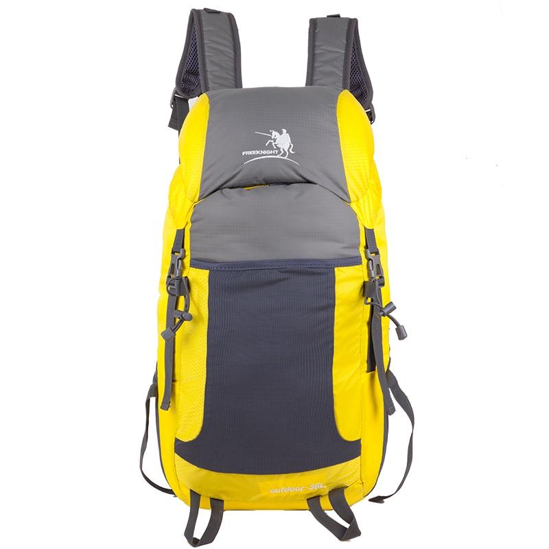 35L Ultralight Kalis air Nylon Unisex Ransel Folding Luar Rangka Basikal Menunggang / Camping Beg Memanjat Penyimpanan Sukan Perjalanan Beg