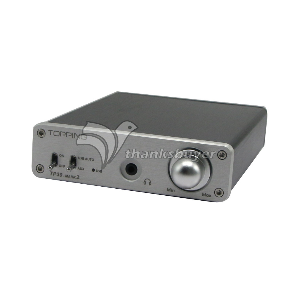 цены Topping TP30 MARK2 MK II USB DAC Headphone Amp TA2024 T-Amp Amplifier Upgrade Version of TP30
