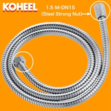 shower hose Silicone tube Stainless Steel Hose 1.5 M Bath Water Plumbing Hose flexible bathroom Shower Hoses K-91xs