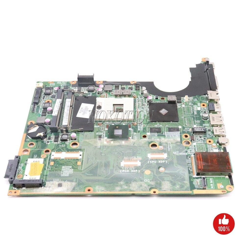 NOKOTION Carte Mère D'ordinateur Portable Pour Hp pavilion DV7 DV7T DV7-3000 600862-001 580973-001 DA0UP6MB6F0 PM55 DDR3 G105M