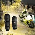2 PCS Pro-biker 4 pieces/set Outdoor Motorcycle Protective kneepad Motocross Protector Racing  Elbow Gear adjustable EVA Cushion
