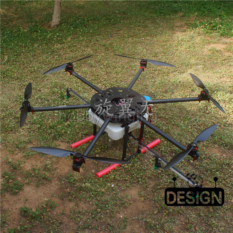 6-axis Spray pump Agriculture drone w/ 10KG/10L spraying gimbal system carbon 30MM tube 1260mm Wheelbase Folding UAV Hexacopter agricultural drone frame kit pesticide spraying drone x4 10 carbon fiber 10kg spraying uav sprayer for new gernaration farmers