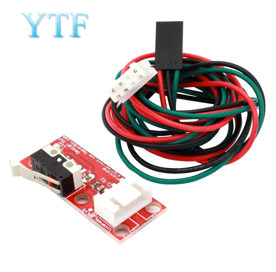 Mechanical Endstop Switches RAMPS 1.4 For 3D Printer RepRap Prusa Mendel