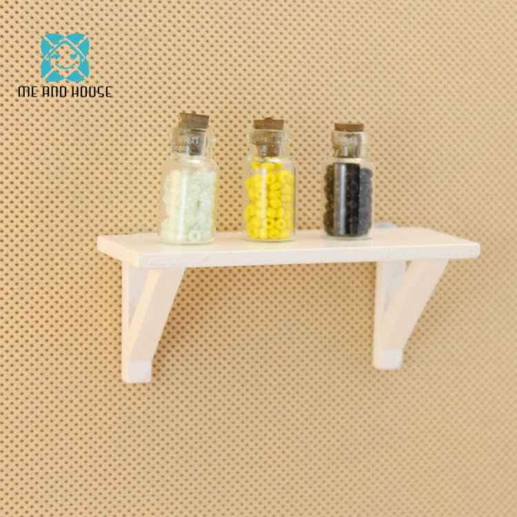 Mini Wooden Dollhouse Stacks Miniature Kitchen Luggage Carrier DIY Little Gift Dolls 1/12 Scale Furniture