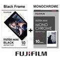 Genuino fujifilm fuji instax mini película monocromo mono + film negro para Mini 8 70 8 Plus 90 25 Cámara SP-1 SP-2 Más Gastos de Envío regalo