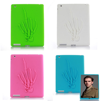For IPad 2 3 4 Cover Cool Middle Finger Shock Proof Silicone Kids Protective Safe Soft