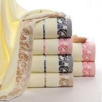 Bawełna Tekstylia domowe Grzyby Żakardowe Łazienka Ręcznik kąpielowy Miękki Ręcznik Do Twarzy Sport Twarzy Ręcznik 70x140 cm Wysokie jakość 3 Kolory