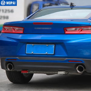 Image 3 - MOPAI Car Styling ABS Car Tail Rear Bumper Board Decoration Trim Stickers for Chevrolet Camaro 2017 Up Car Accessories