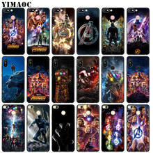 YIMAOC Marvel Avengers Infinity War Black Panther Soft Silicone Case fo