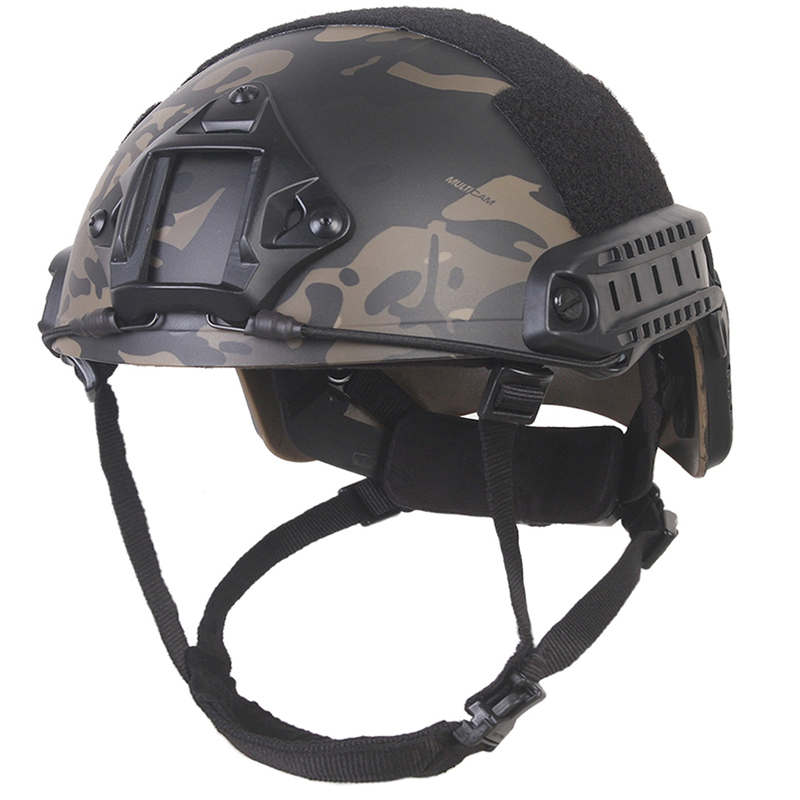 Military Airsoft Multicam Black Helmet Combat EMERSON Fast Helmet MH BJ PJ Type