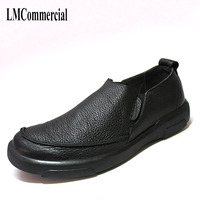 New Pedal Leather Soft Bottom Shoes Men British Business Casual Shoes On Behalf Of A Lazy
