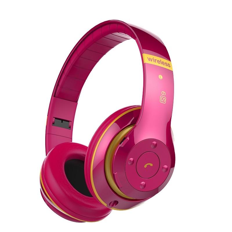Neue Heiße Drahtlose Kopfhörer Bluetooth Headset Faltbare Kopfhörer Einstellbare Kopfhörer Mit Mikrofon Für PC handy Mp3