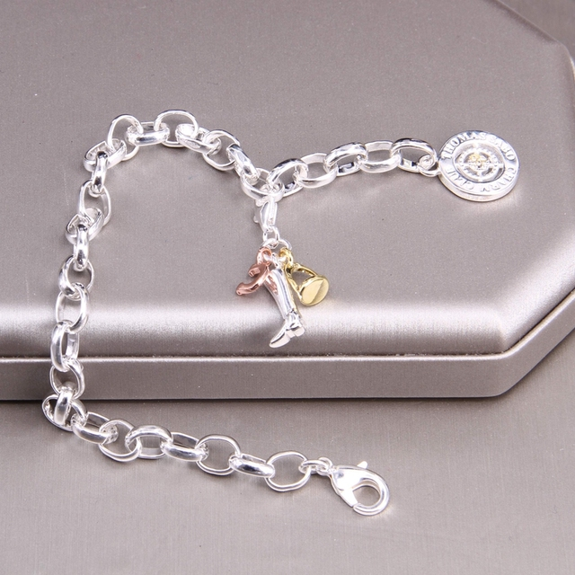 Купить подвеска браслет hemiston thomas со звеньями на удачу украшение картинки