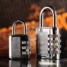 3 Digit Dial Combination Code Number Lock Padlock for Luggage Backpack Suitcase Drawer lock suitcase code _WK