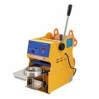 75mm / 95mm / 90mm Manual Plastic Cup Sealer Sealing Machine 110v / 60hz 220v 50hz Cup Sealer