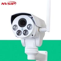 NVSIP HI3518E 960P/1080P HD Wifi PTZ IP Camera Bullet Outdoor 4X Pan Tilt Zoom 2.8 12mm 2MP Wireless IR Onvif SD Card CCTV Came
