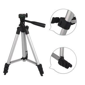 Image 5 - Mini soporte de trípode para cámara 3110, trípode telescópico profesional de aluminio, monopié para iPhone, Samsung, cámara de acción para teléfono inteligente