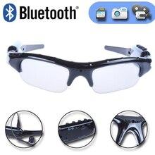 HD video camera mini DV 1080p stereo bluetooth BT glasses card Record polarized  microphone hands-free phone music
