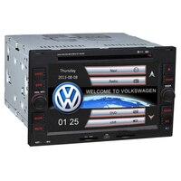 6.2 inch 2 din Original UI Car DVD Player GPS Navigation For VW PASSAT B5 Golf 4 Polo Bora IPOD FM AM USB BT canbus SWC AUX RDS