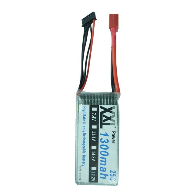 XXL 25C 1300mAh 5S 18.5V RC Lipo battery Bateria AKKU For RC Helicopter Airplane Drone Quadcopter
