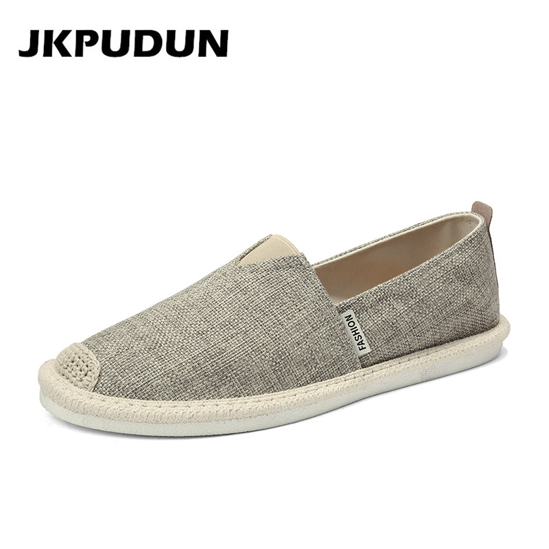 Aliexpress.com : Buy JKPUDUN Summer Hemp Men Shoes Casual