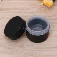 Cosmetic Container Travel Empty Jars Pot Makeup Cream Lip Balm Dual Layer Container 50g Plastic #H056#