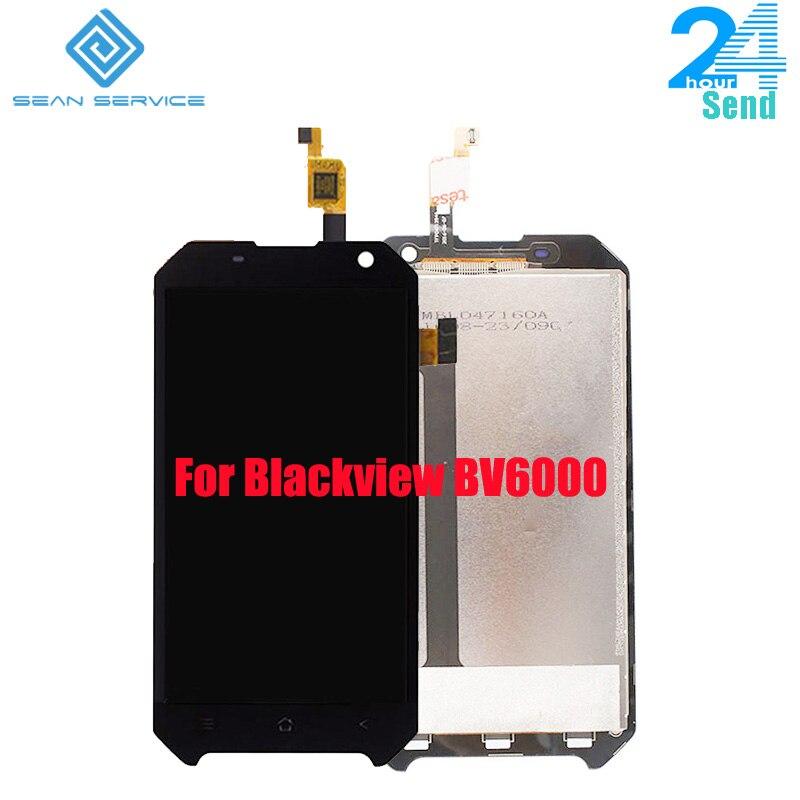 Für Original Blackview BV6000 LCD Display und TP Touch Screen Digitizer Montage lcds + Werkzeuge 4,7