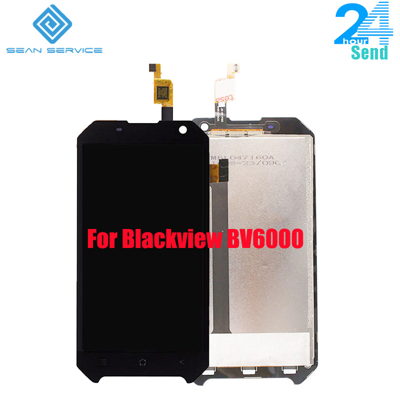 For Blackview BV6000 LCD Display And TP Touch Screen Frame Digitizer Assembly Lcds Tools 4 7