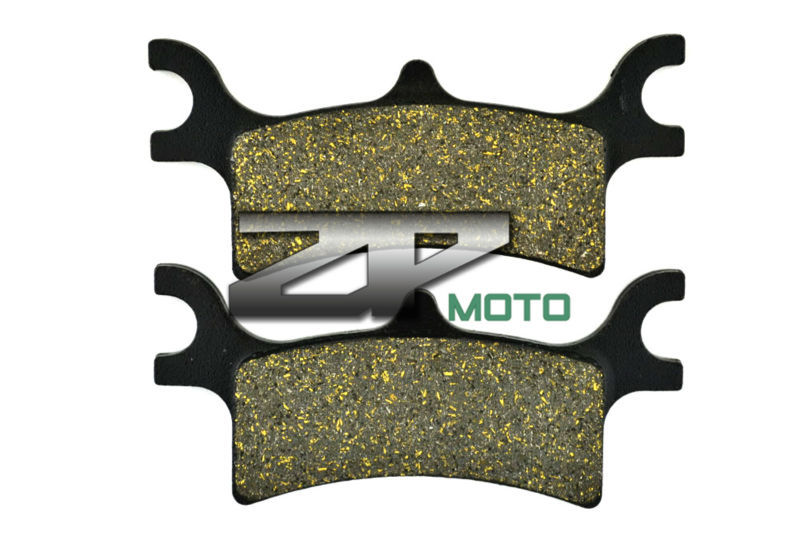 Organic Kevlar Brake Pads For POLARIS 800 Sportsman Big Boss/6x6/EFI 2009-2013 Rear OEM New High Quality atv quad front brake disc rotor for polaris 500 sportsman efi quad h o 600 4x4 700 mv x 2 800 ntl ho touring big boss 6x6