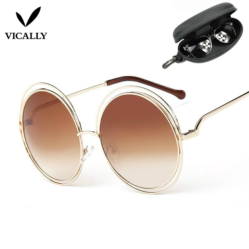 Oversized Vintage Sunglasses  por oversized round sunglasses oversized round