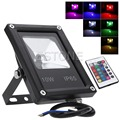 10W LED IP65 Flood Light Outdoor Garden Landscape Yard Warm/Cool White/RGB Lamp
