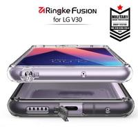 Ringke Fusion Case For LG V30 Case Crystal Clear Back Cover And Soft TPU Frame Hybrid